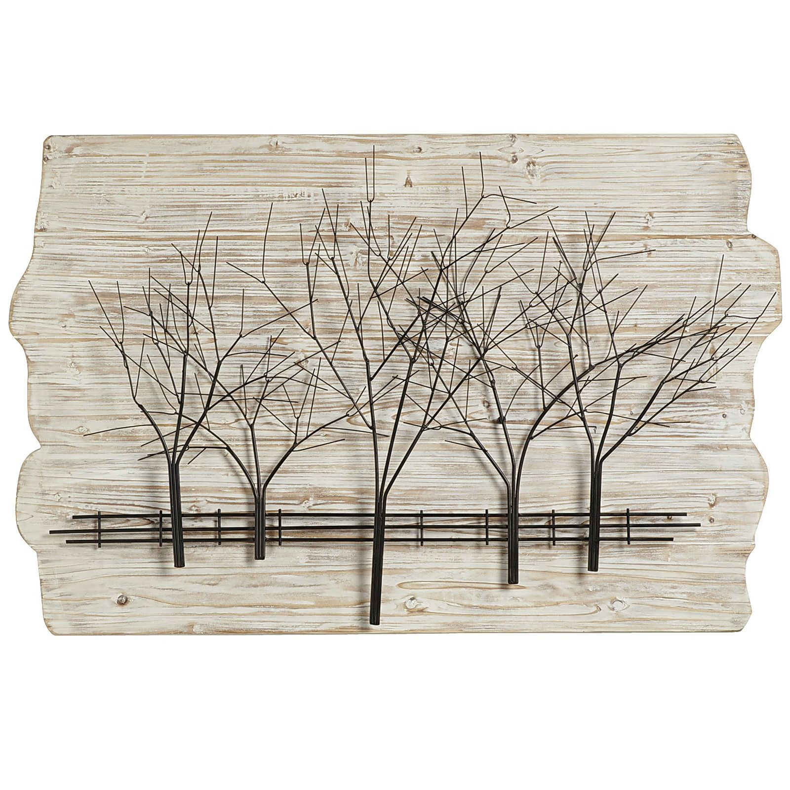 Ivory woodlands wall decor metal panels firs and bedrooms