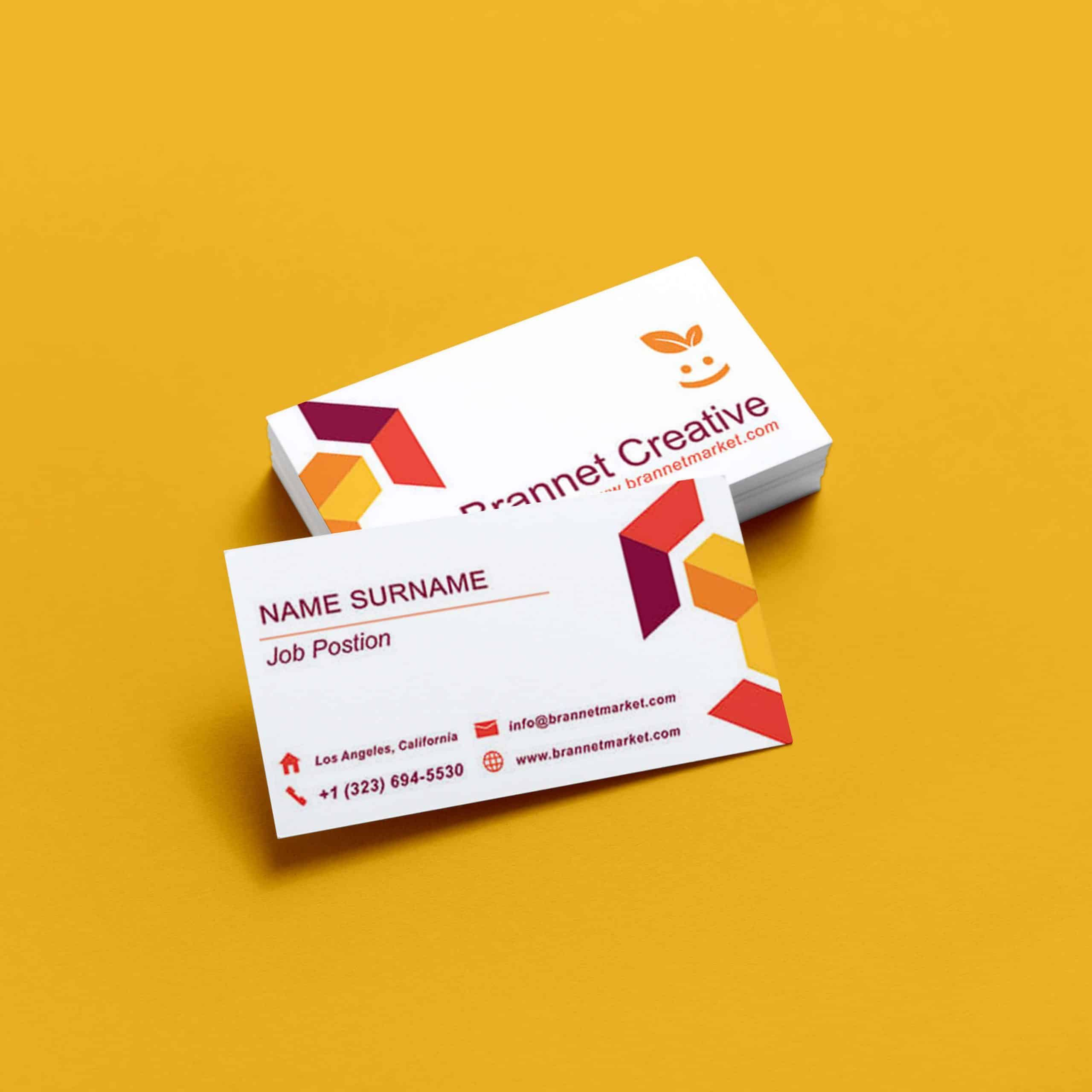 Creative Cube Shapes Business Card Brannet Market Shaped Business Cards Business Cards Creative Premium Business Cards