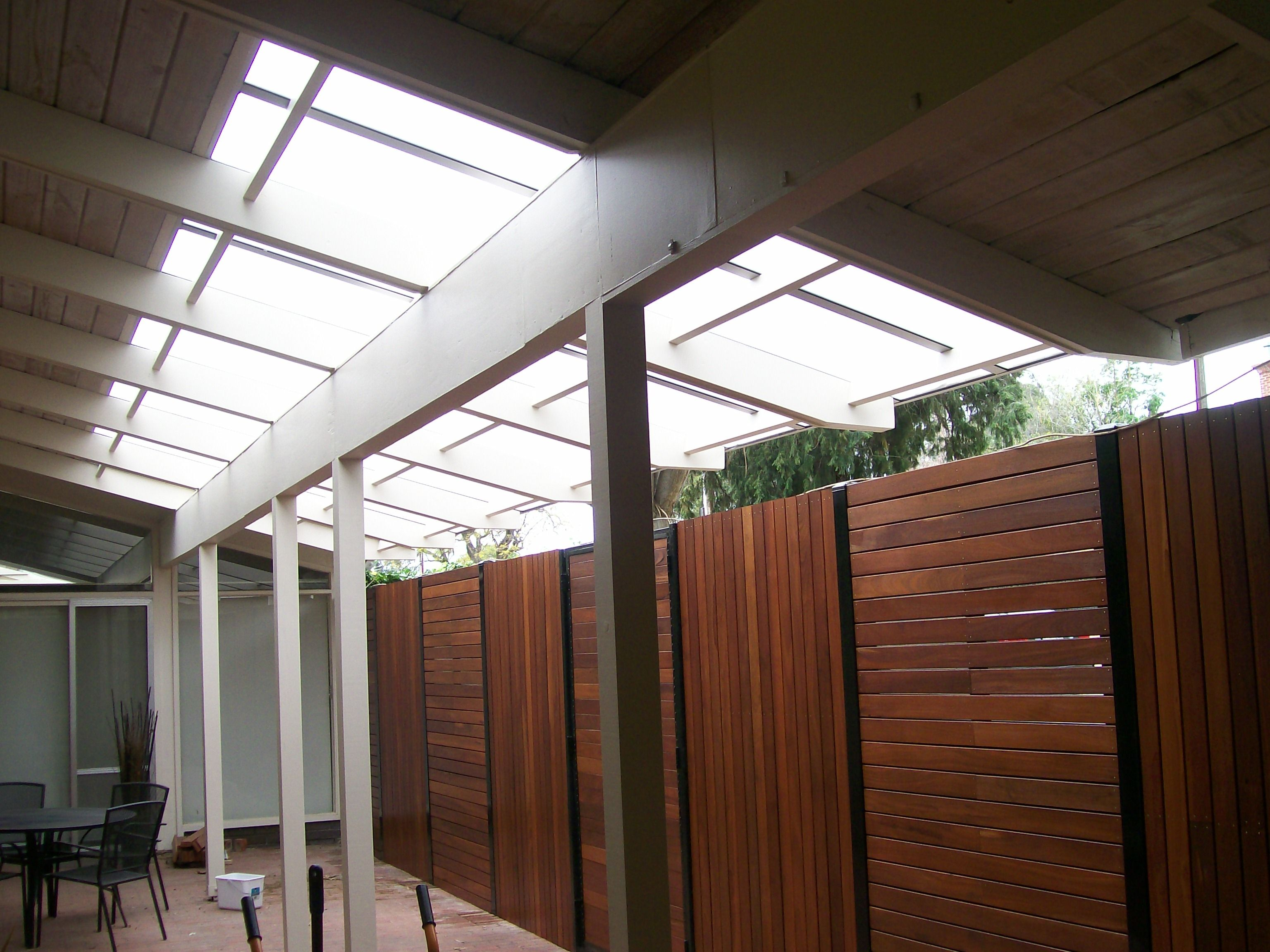 Twin Wall Sheets Verandah And Deck Fencing Future Home