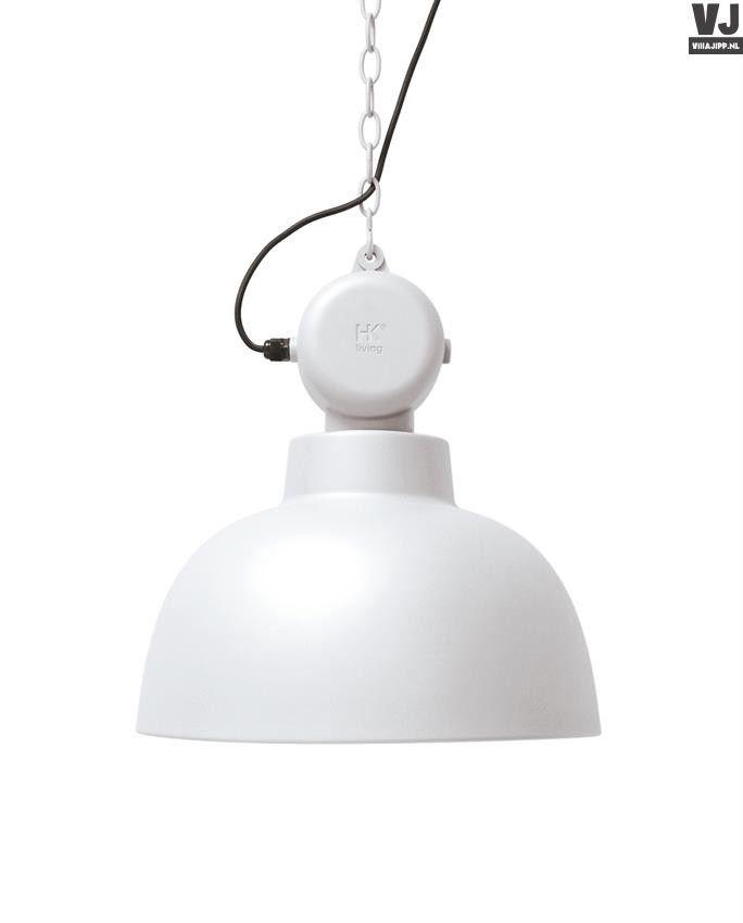 hk living factory lamp wit verlichting pinterest