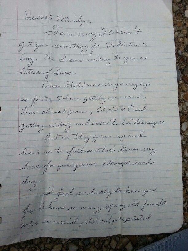 Letter To My Mom From My Dad Page  My Dad Was The Ultimate