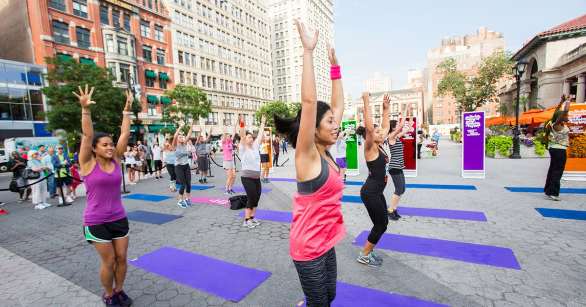 16 Free Outdoor Workouts You Can Do in NYC This Summer via @PureWow