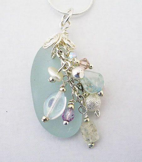 Photo of Charmed Beach Glass Pendant