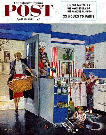 Artist: Norman Rockwell, Post covers (1953)