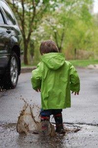 Idées pour occuper les enfants en cas de pluie