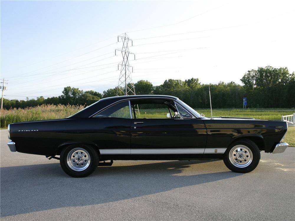1967 Ford Fairlane 1967 Ford Fairlane 500 Custom 2 Door Coupe
