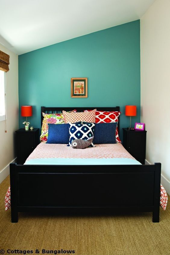 fett gegenüberstellt hintergrund  kleine schlafzimmer