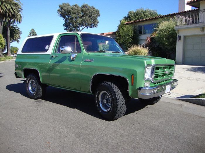 Hemmings Find Of The Day 1976 Gmc Jimmy High Sierr Classic Gmc