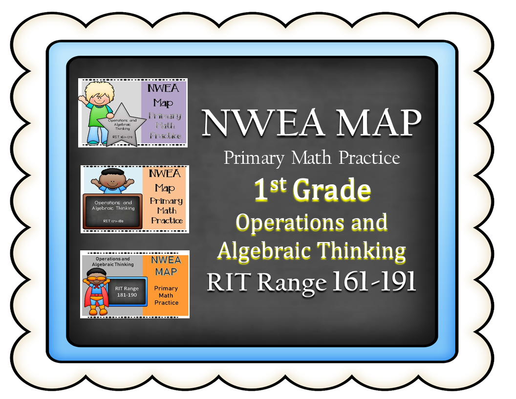 Nwea Map Primary Math Practice Bundle Operations And