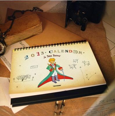 2013 Le Petit Prince Calendar
