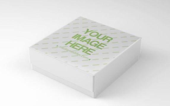 Download 3D Gift Box Side View Mockup Generator | ShareTemplates ...