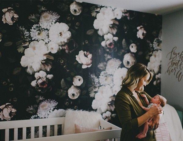Kunstvolle Wanddeko Ideen mit Tapeten von Ellie Cashman Design