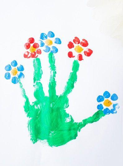 12 Ideen zum Malen im Frühling mit Kindern — Mama Kreativ #frühlingblumen