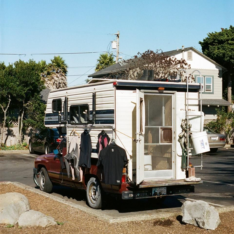 Truck Camper of the day! #DefineYourRoad via A Restless Transplant