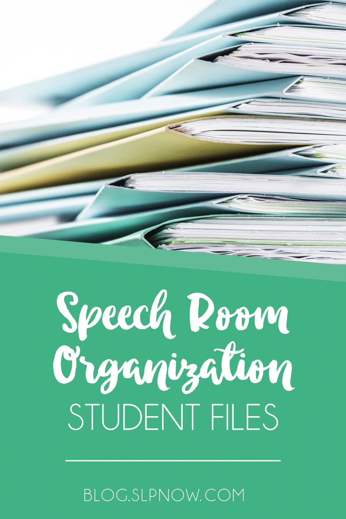 Student File Organization