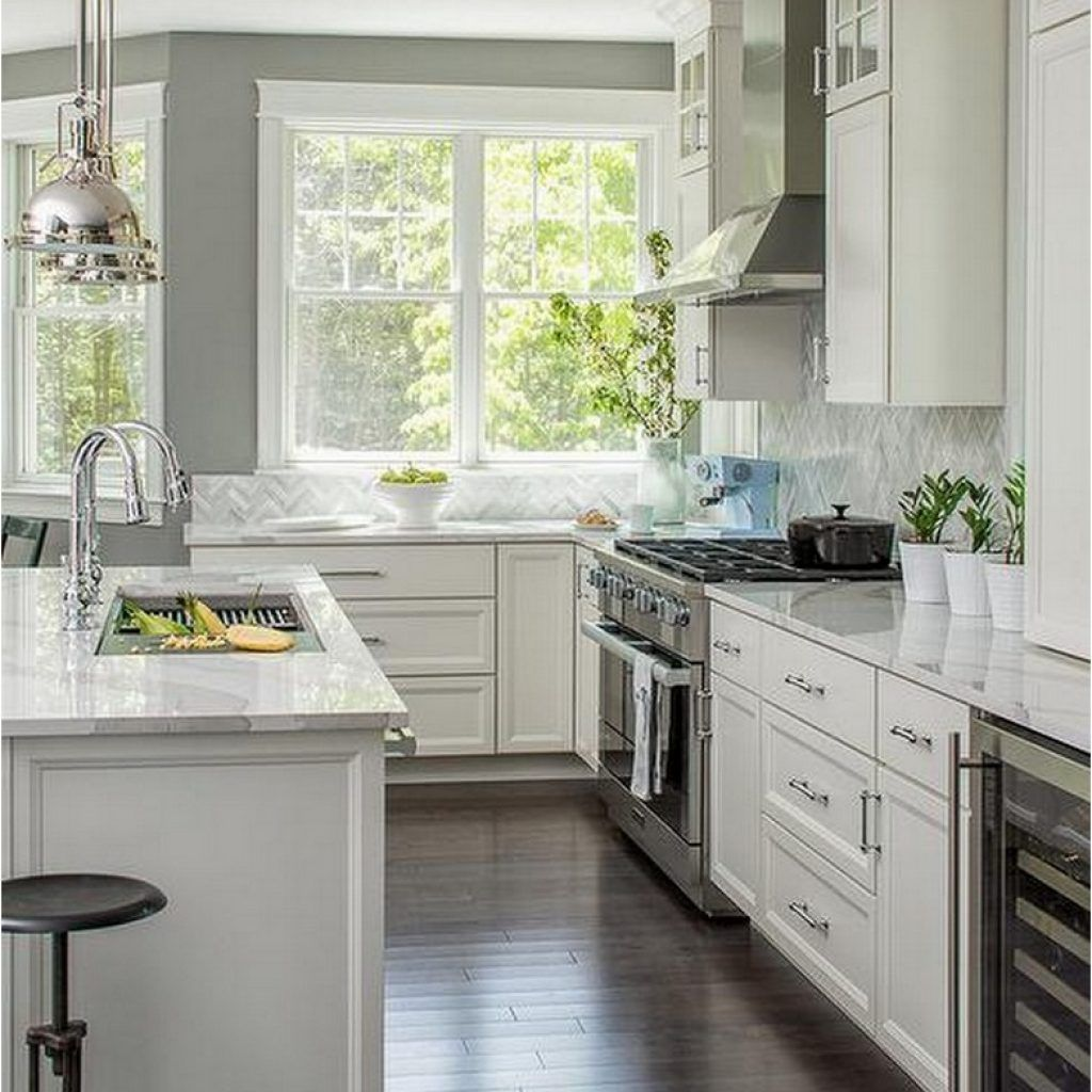 Best 99 Modern White And Grey Kitchen Cabinets Design Ideas 400 x 300