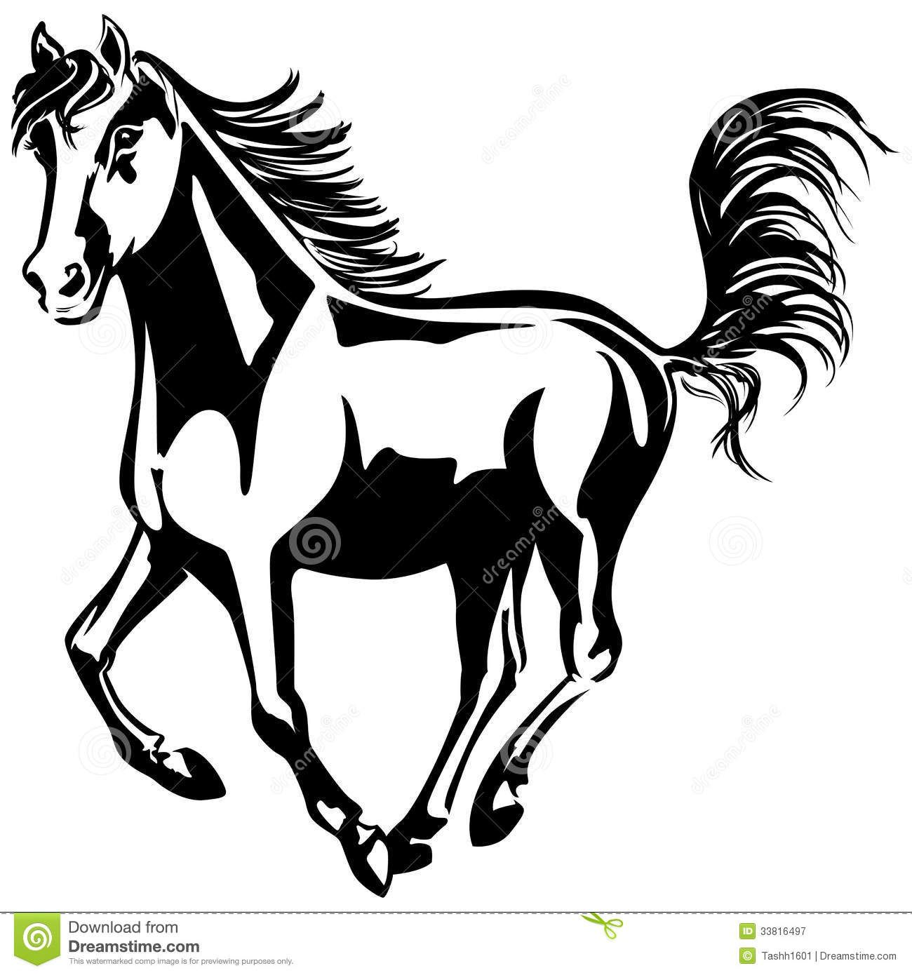 horse black and white drawing - Google Search | Survivor ...