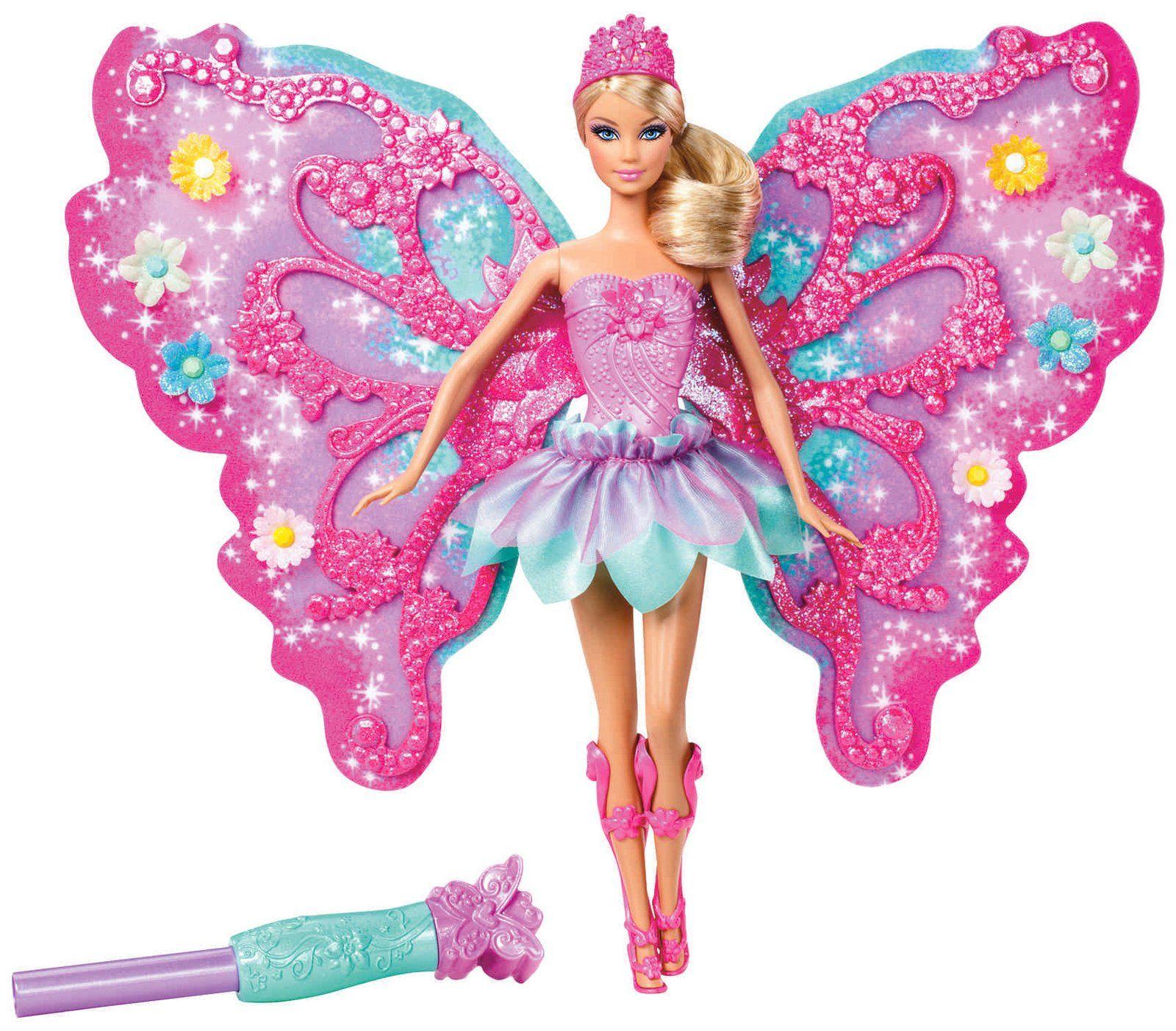 Barbie Flower N Flutter Fairy Doll