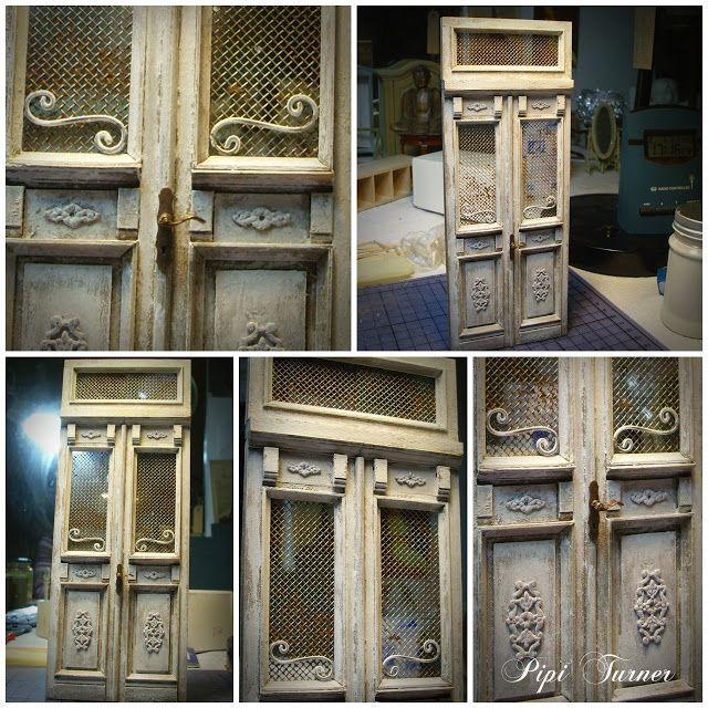 pipi turner miniatures neue alte t r miniatur m bel pinterest alte t ren t ren und alter. Black Bedroom Furniture Sets. Home Design Ideas