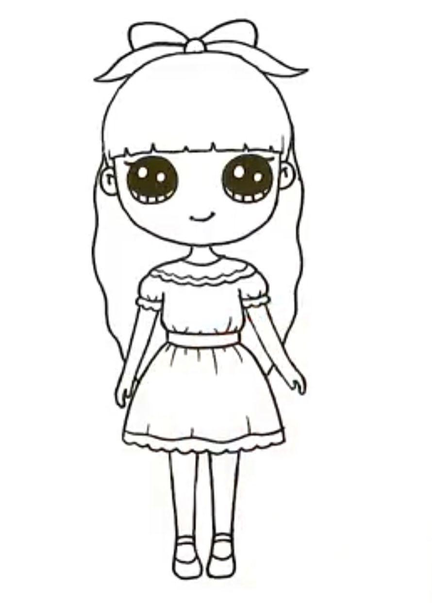 Pin De Carla Eid Em Kawaii Girl Drawings Com Imagens Kawaii