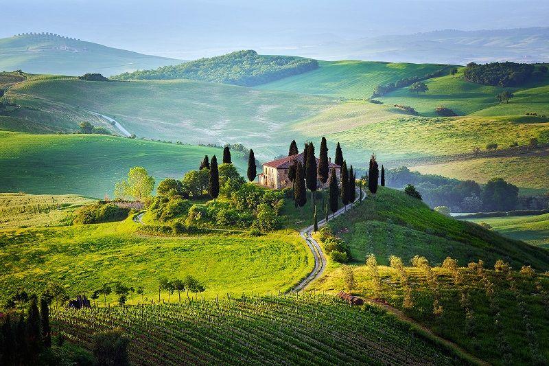 Самые красивые фото Тосканы. Пейзажи и не только ...