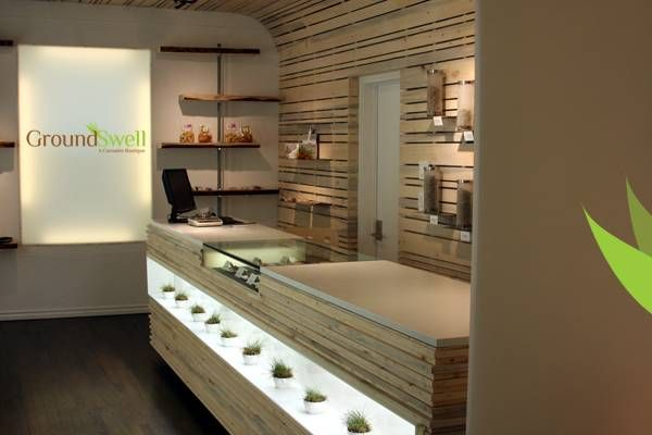 Beautiful Counter Retail Interior Design