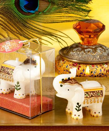 Good Fortune Elephant Candles Candle Favors Pinterest Wedding