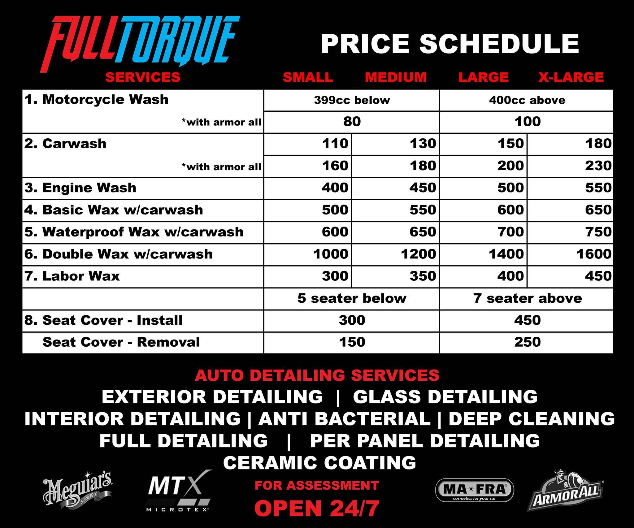 Car interior detailing price philippines httpsifttt