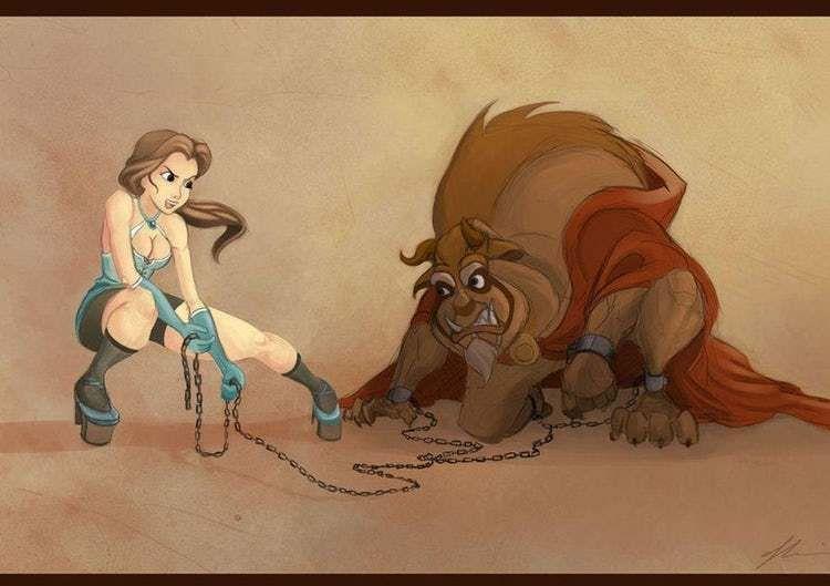 Dirty Disney Fan Art