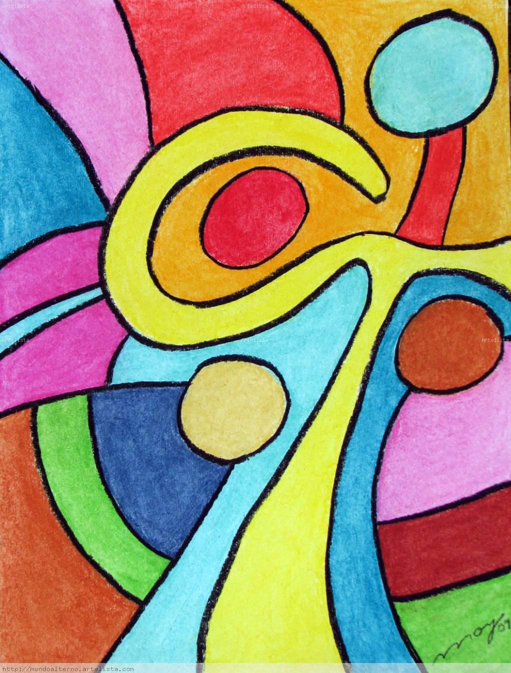 Pin de paola andrea en motivos de bolsas pinterest for Imagenes de cuadros abstractos faciles de hacer