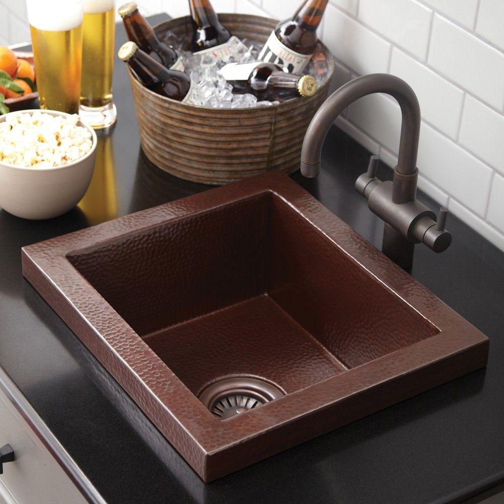 Manhattan | Bar sink, Sink, Kitchen design open