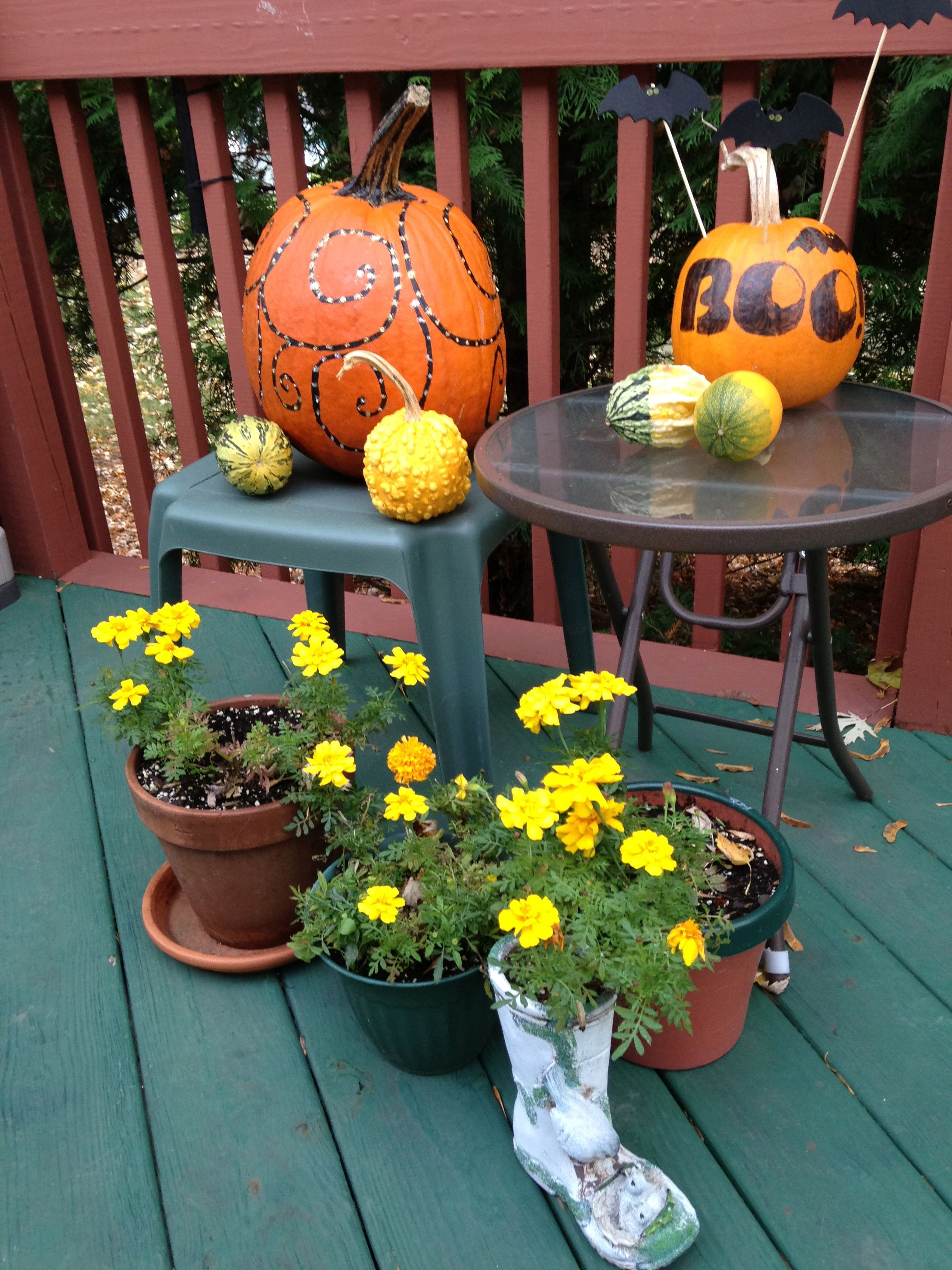 Fall  Halloween decoration HOLIDAY FUN IDEAS  CRAFTS - fall and halloween decorations