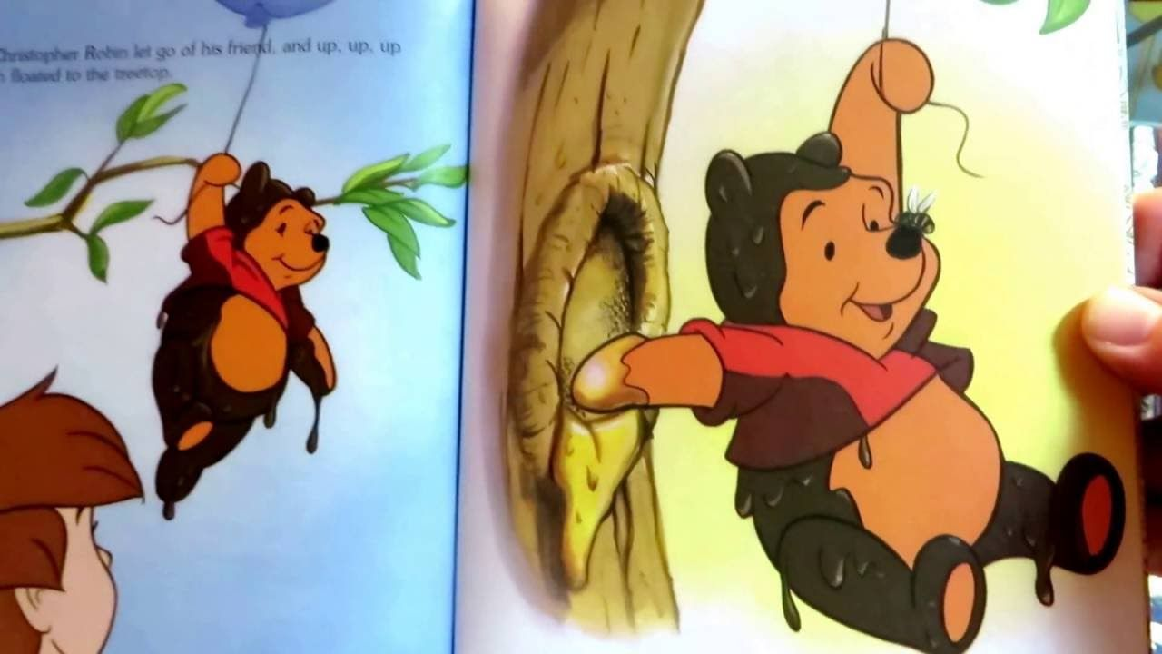 winnie the pooh and the honey tree 1994 a little golden