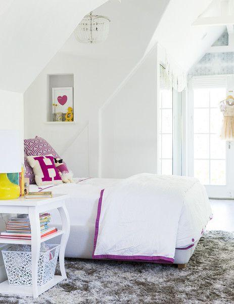 Habitaciones juveniles en blanco inspiraci n fotos for Imagenes de habitaciones decoradas