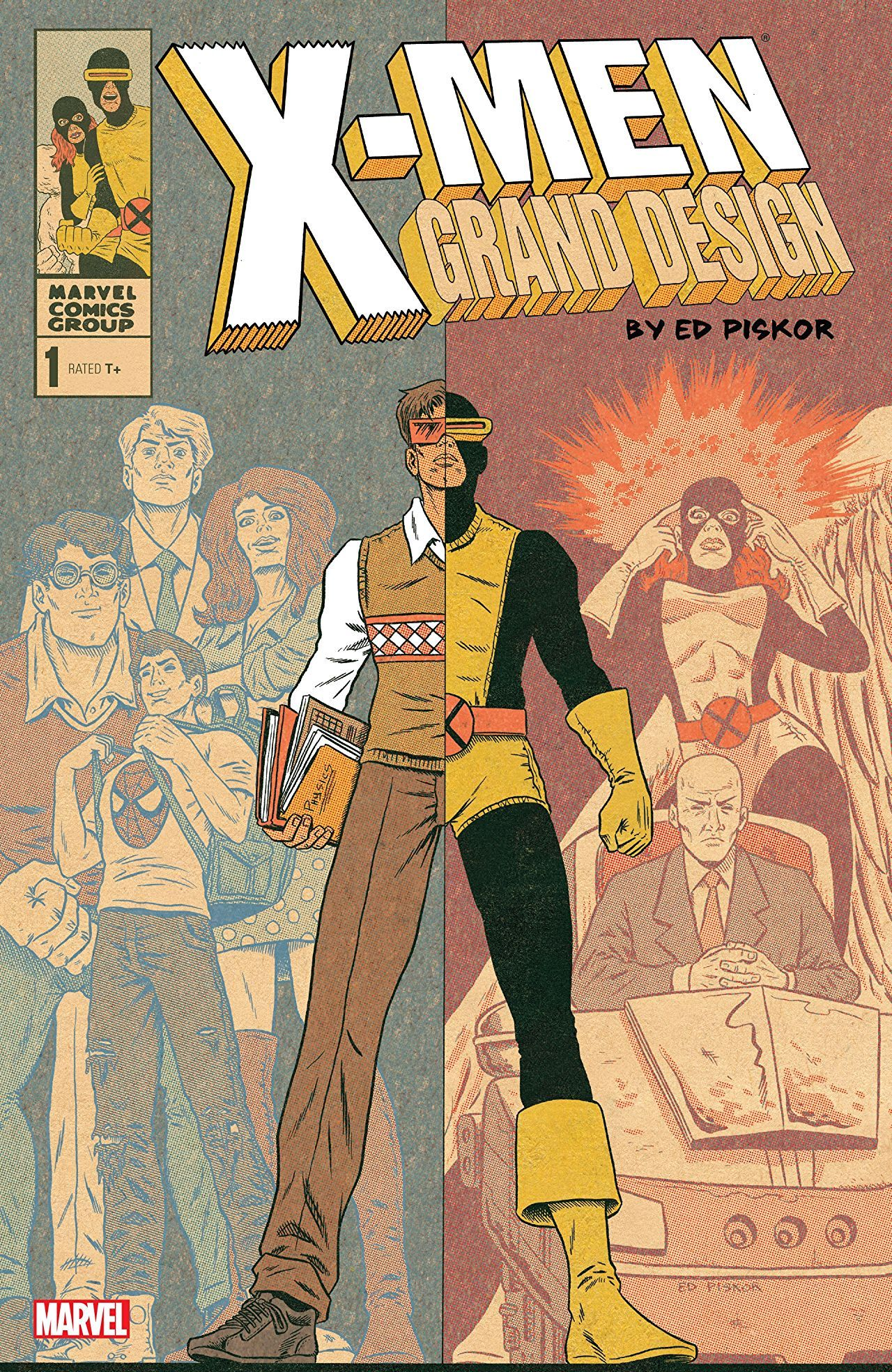 X Men Grand Design 2017 2018 1 Of 2 Marvel Marvel Marvelofficial Xmen Cover Artist Ed Piskor Release Date 10 4 2017 Grand Designs Comics X Men