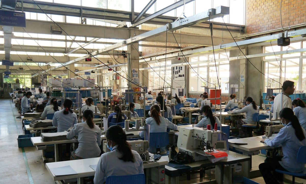 Cambodia textile factory offers new model to improve