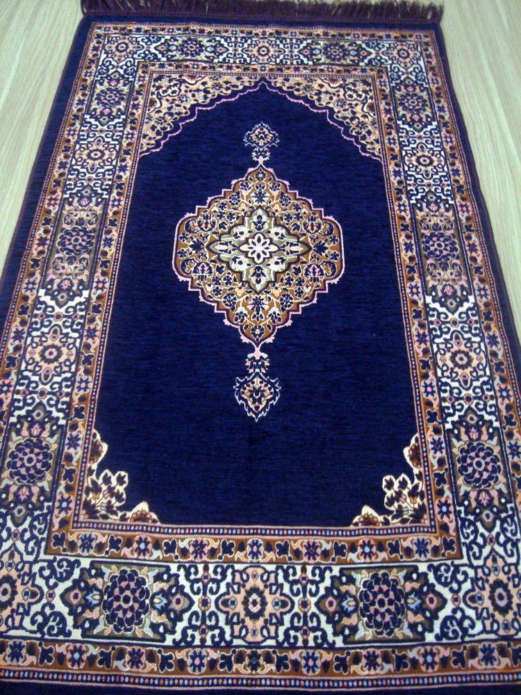 Luxury Islamic Prayer Rug Carpet Mat Namaz Salat Musallah Sonil Islamic Gift Muslim Prayer Rug Prayer Rug Prayer Mat Islam