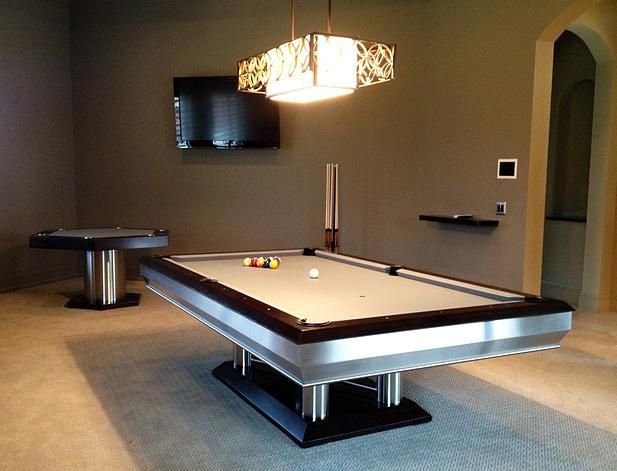 Home Modern Game Tables Modern Pool Table Custom Pool Tables