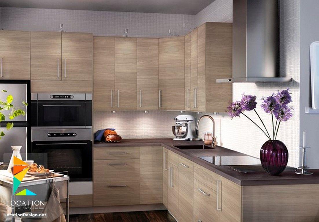 بالصور تصميم مطابخ صغيرة تنافس اكبر المطابخ 2018 2019 لوكشين ديزين نت Ikea Kitchen Beautiful Kitchen Cabinets Kitchen Cabinets
