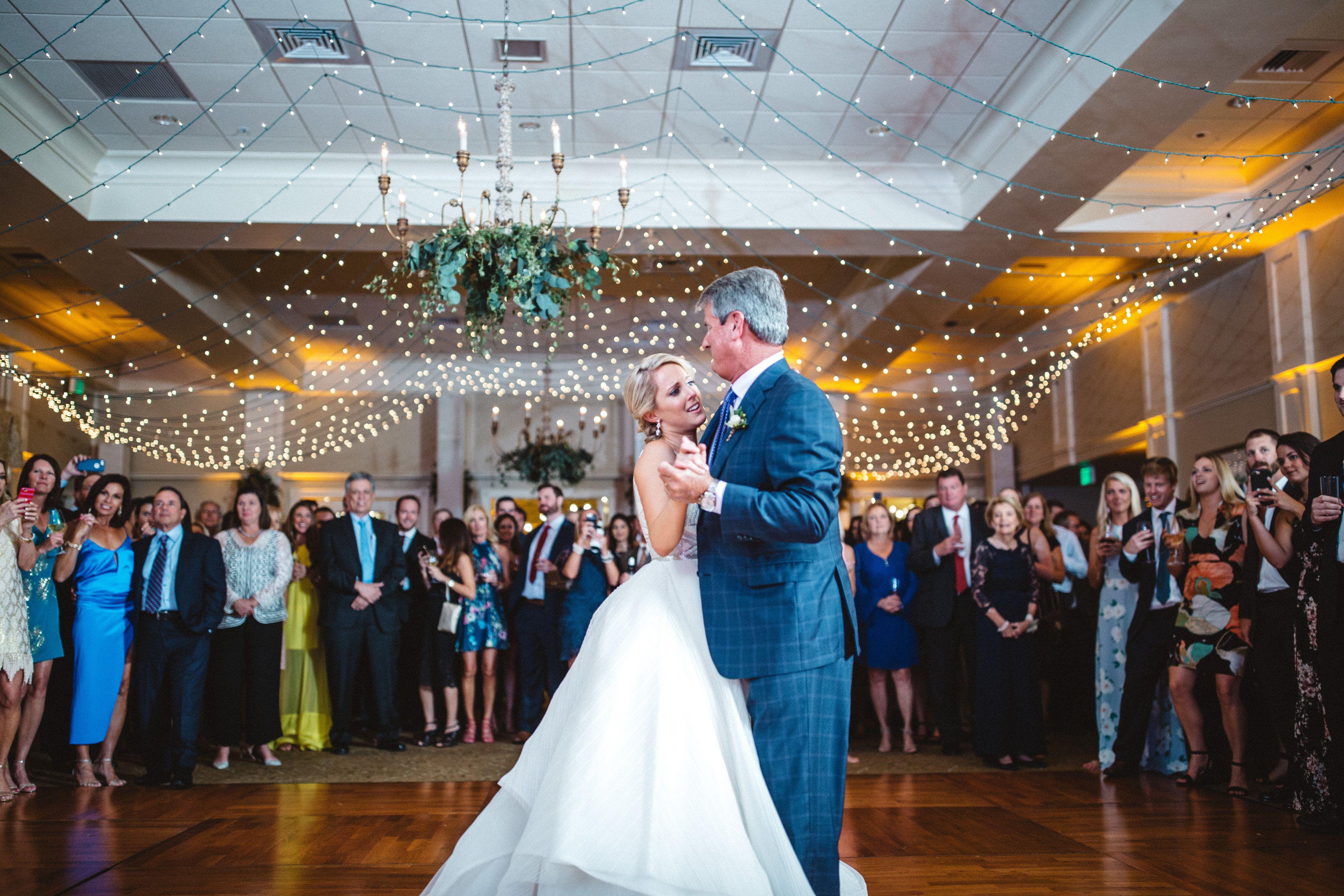 First dance amazing wedding lighting interlachen country club
