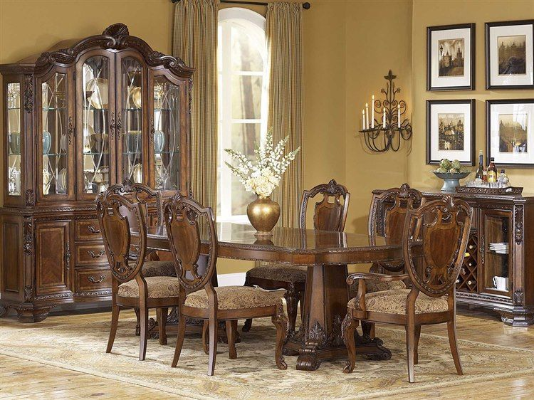 A R T Furniture Tuscan Decorating Dining Table Round Dining Room Sets