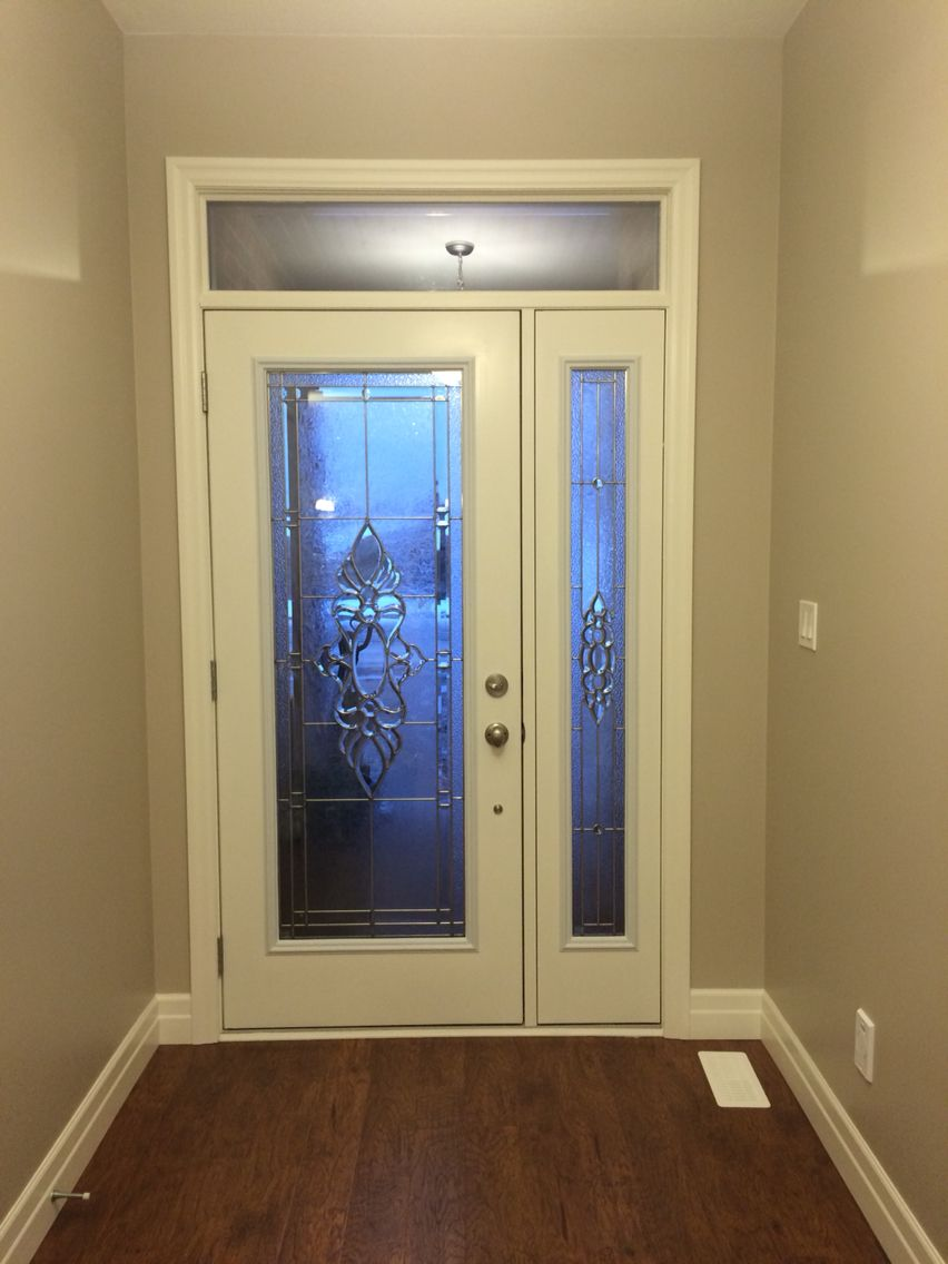 @jeffduimeringbuild Front Door With Single Side Light And Transom.