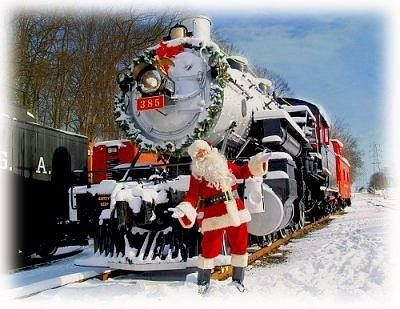 Christmas Train Merry, Merry Pinterest Christmas train and