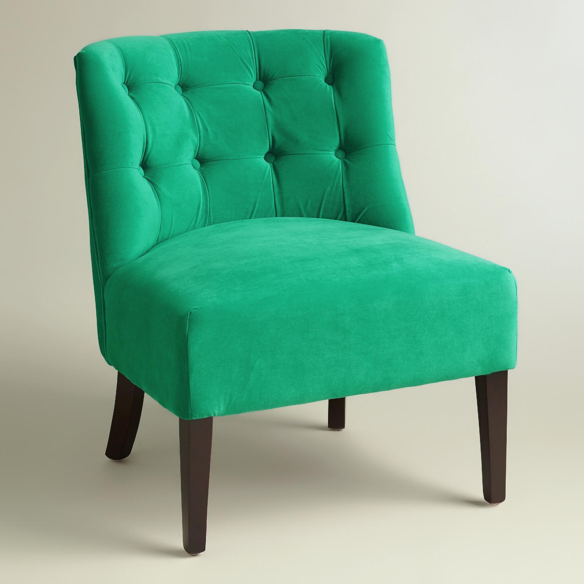 Emerald Green Lindsey Chair World Market Living room