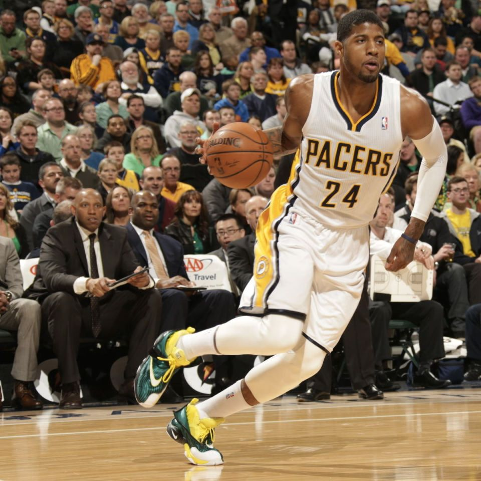 #SoleWatch // Paul George in the Sole Collector x Nike Air Zoom Flight The