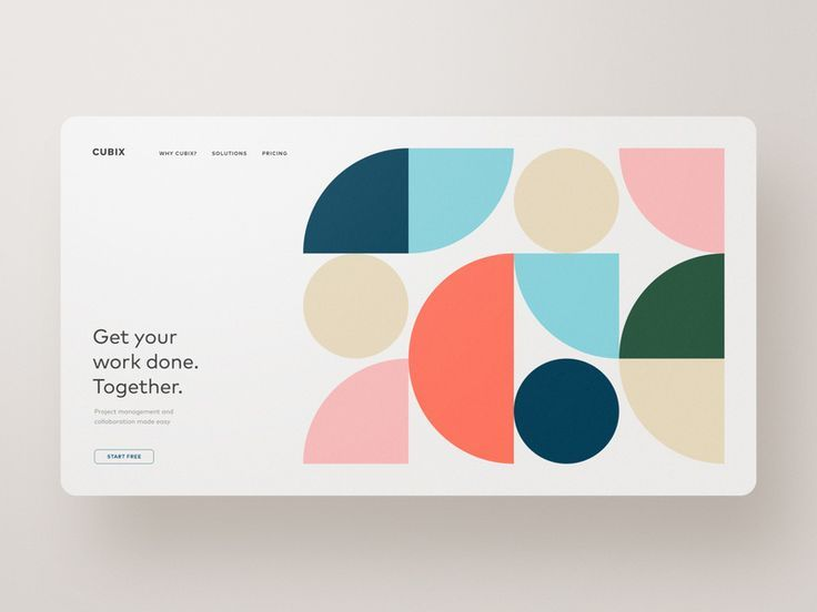 CUBIX — Project Collaboration and Organization by Ben Schade on Dribbble