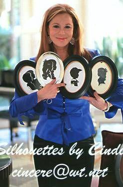 Silhouette Artist Cindi comes to Dallas NY Chicago Houston LA DC
