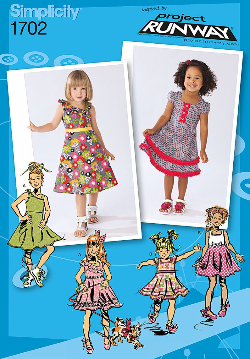 Purchase simplicity 1702 toddlers and childs dresses and read purchase simplicity 1702 toddlers and childs dresses and read its pattern reviews find other jeuxipadfo Choice Image
