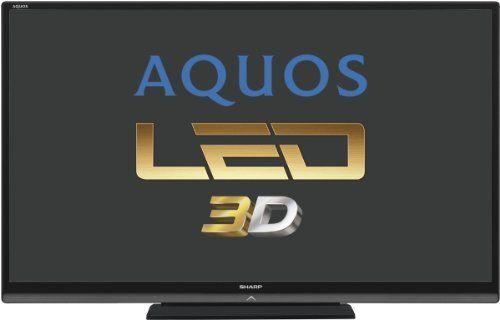 Sharp Lc60le740e 152 Cm 60 Zoll 3d Led Backlight Fernseher Eek A Full Hd 100 Hz Dvb T C S2 Internet Tv Schwarz