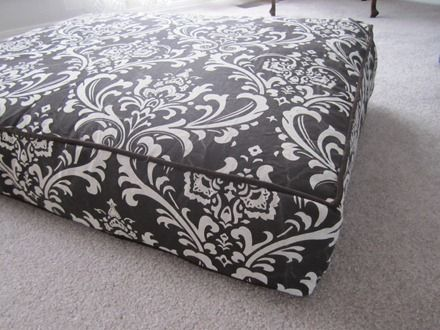 How To Make A Boxed Cushion Cover With A Zipper Custom Cushion Covers Sewing Cushions Diy Couch Cushions